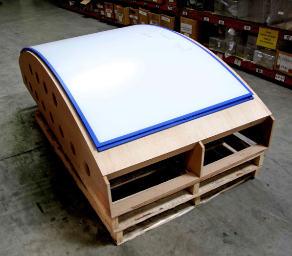 Fabrication Jobs Using A Thermoformed Acrylic Sheet