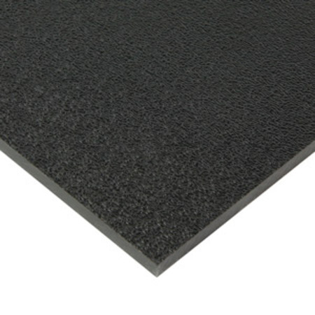 093 Quot X 24 Quot X 48 Quot Black Abs Haircell Finish 1 Side At Eplastics