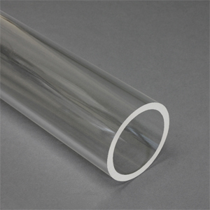 """x5 1//4/"""" ID x 3//8/"""" OD x 1//16/"""" Wall 48/"""" Polycarbonate Round Tube Clear Nominal"""