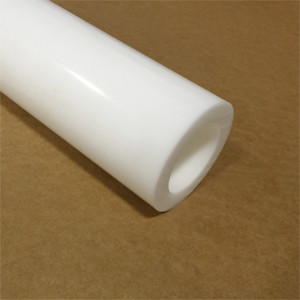 """Price per Foot Cut to Size! 7/"""" White Natural Delrin Acetal Plastic Rod"""