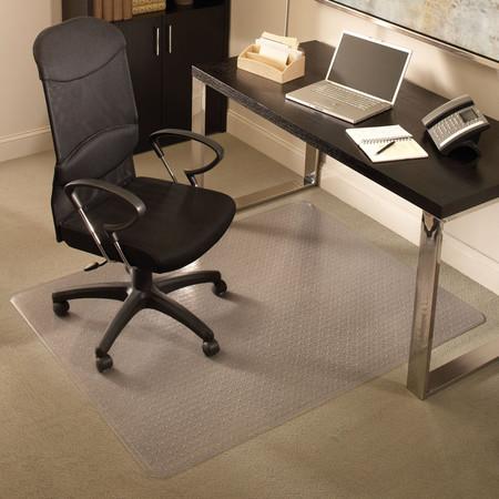 Chair Mat For Medium Pile Carpet 36 W X 48 L Rectangle At Eplastics