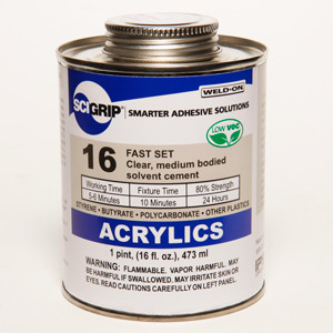 Lexan Polycarbonate Glue