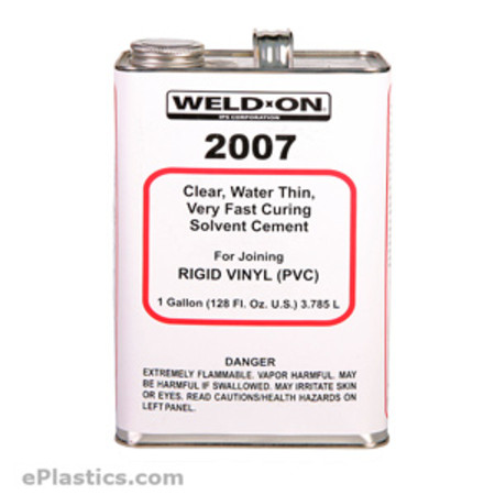 Weld On 174 2007 Gallon At Eplastics