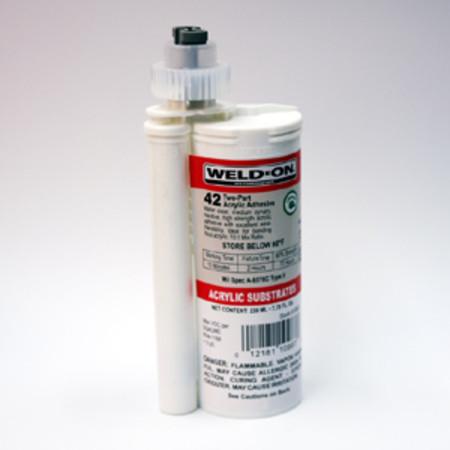 Weld On 42 Ips42 230ml Cartridge Plexiglass Glue Adhesive