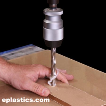 Precision Drilling Of Plexiglass Lexan Plastics From 1 16 And