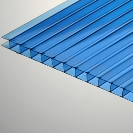 10mm X 48 Quot X 96 Quot Blue Multiwall Polycarbonate Sheet At