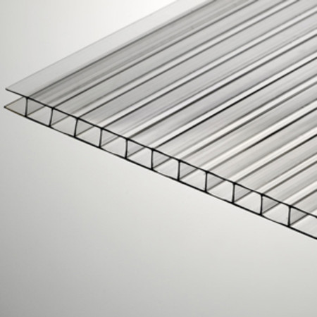 10mm X 48 Quot X 144 Quot Clear Twinwall Polycarbonate Sheet At