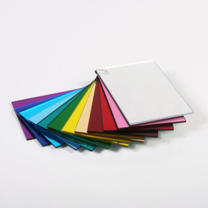 Cut-to-Size Transparent Color Acrylic Sheets in Stock at ePlastics