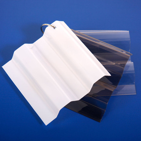 0 031 Quot Greca Corrugated Polycarbonate Sheet Samples