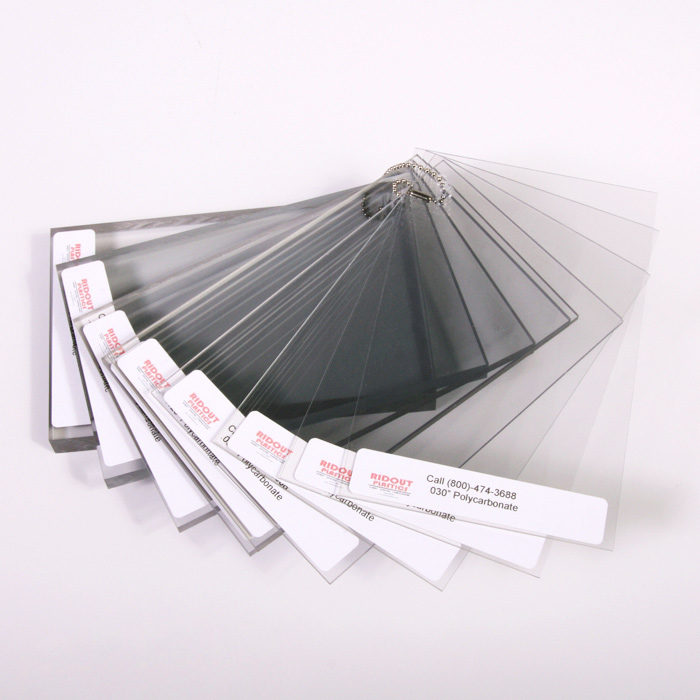 """0.030/"""" x 24 x 24/"""" Clear Polycarbonate Sheet 1//32 inch Lexan PC for Face Shields"""