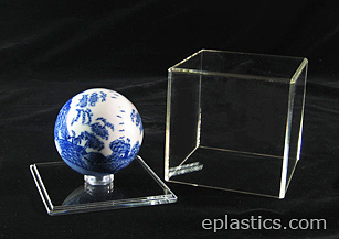 plexiglass case with lid