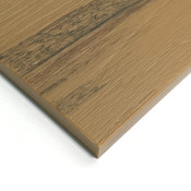 Timberline Wood Grain HDPE Sheets