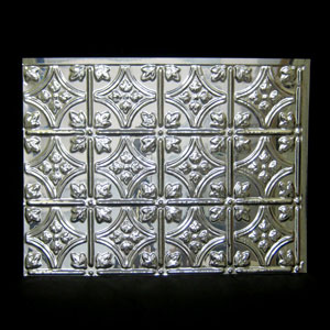ati traditional mirror silver backsplash sheet panel 18 x 24