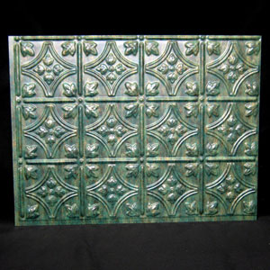 ati traditional mirror vertigris backsplash sheet panel 18 x 24