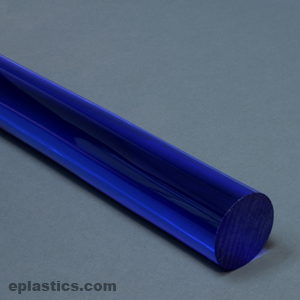 2 000 Quot Dia 9092 Fluorescent Blue Extruded Acrylic Rod At