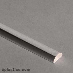 625 Quot Half Round Rod X 6ft Long At Eplastics