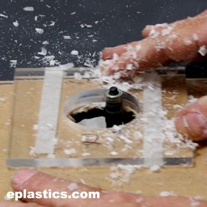 Precision Drilling Of Plexiglass Lexan Plastics From 1 16