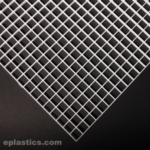 0 500 Quot X 2 X 4 White Egg Crate At Eplastics