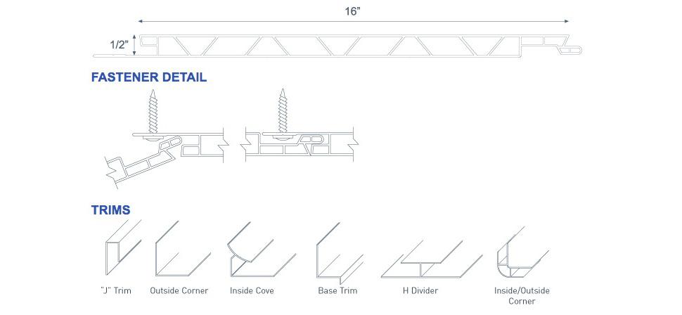 Duramax Trusscore Pvc Wall Amp Ceiling Panels