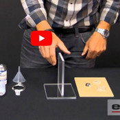 VIDEO: How to Glue Plexiglass Acrylic