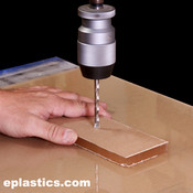 Plexiglass Drilling Charges