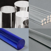 Clear & Color Extruded Acrylic Rod